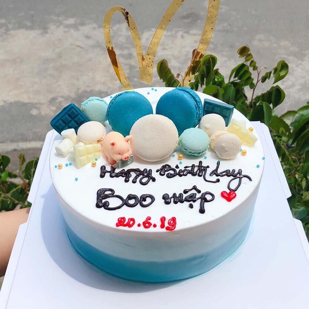 Bánh Sinh Nhật Dễ Thương - Love Cake