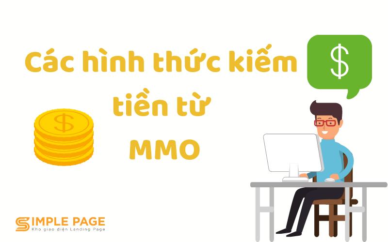 các hình thức kiếm tiền từ MMO