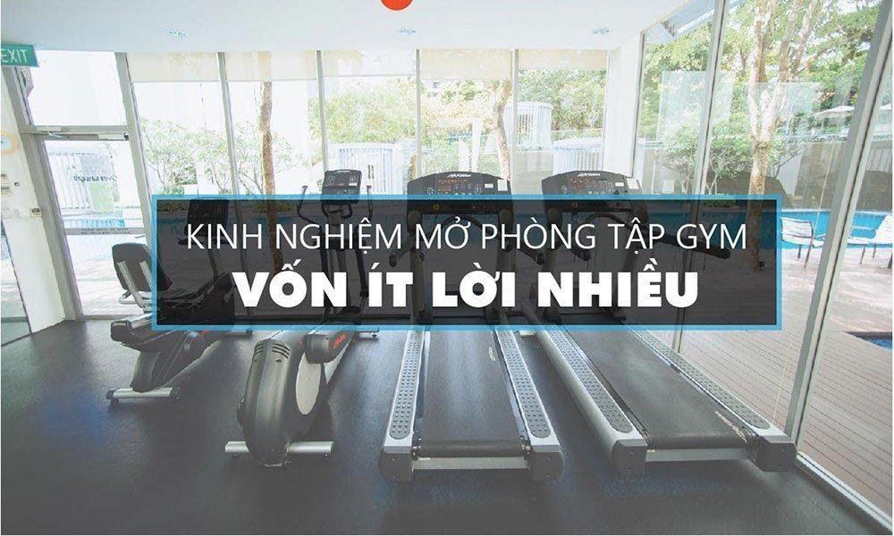 Vốn mở phòng tập gym