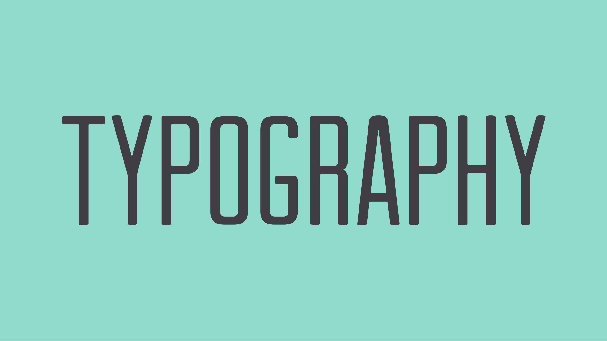 Typography là gì? Cách thiết kế typography đơn giản - WEBICO BLOG